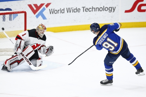 Devils can't snap St. Louis hex, fall in shootout