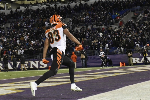 Buffalo Bills fans continue to be charitable, donating in Tyler Boyd's name