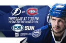 Preview: Lightning try to continue dominating as road trip moves to Montreal