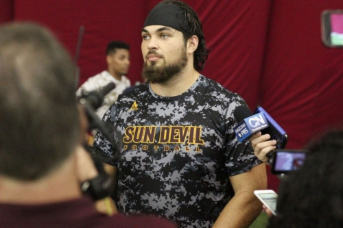 ASU Football: Junior OL Sam Jones declares for 2018 NFL Draft