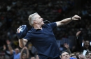 WATCH: John Elway throws football to fans during Nuggets-Suns game