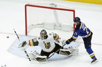 Stastny, Steen score to lift Blues over Golden Knights 2-1 (Jan 04, 2018)