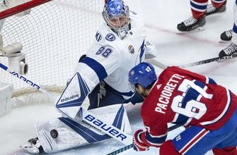 Lightning fall in shootout to Canadiens