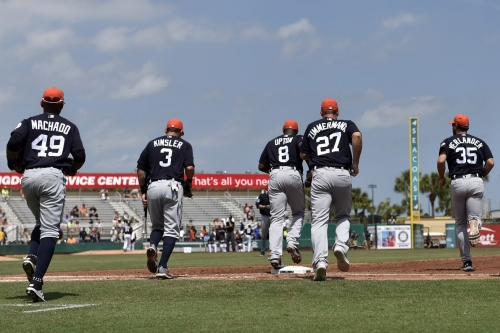 Tigers announce report dates, full spring training schedule