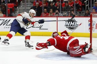 Red Wings beat Panthers 4-2 for 4th straight win (Jan 05, 2018)
