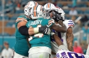 Miami Dolphins' Jarvis Landry, Kenyan Drake fined by NFL after fight with Buffalo Bills