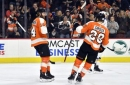 Couturier, Flyers spoil Schenn's return to Philly in 6-3 win (Jan 06, 2018)