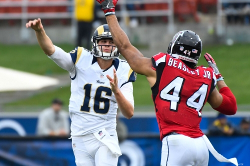 Atlanta Falcons, Los Angeles Rams inactives: Marvin Hall OUT, Nick Williams IN