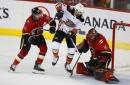 Hamilton scores with 16 seconds left, Flames beat Ducks (Jan 06, 2018)