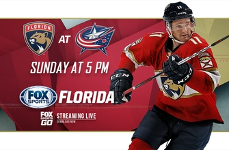 Preview: Panthers remain on the road, try to snap out of funk against Blue Jackets