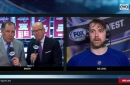 Berglund on Blues: 'I definitely think we played better today'