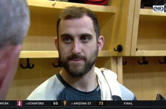 Nick Foligno pleased with Blue Jackets power play goals