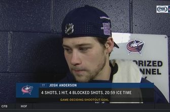 Josh Anderson stayed patient in his SO goal