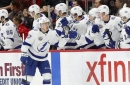 Lightning weather scary injury to Dan Girardi, pick up road win over Red Wings