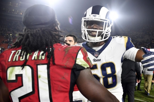 Our takeaways from a stellar Falcons playoff win over the Rams