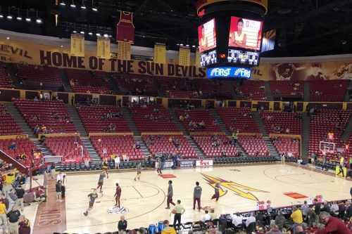 Report: Arizona State tears down wall within Wells Fargo Arena to increase capacity