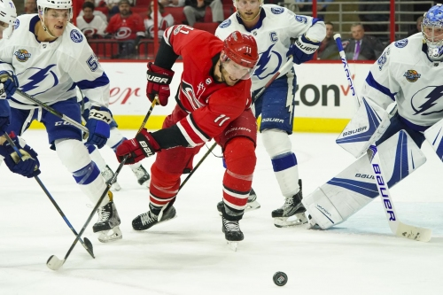 Carolina Hurricanes vs. Tampa Bay Lightning: Game Preview and Storm Advisory