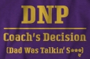 'DNP - Dad Was Talkin' S***' shirts, available now!