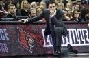 David Padgett talks after Louisville beats Virginia Tech