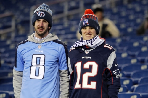 AFC Divisional Round open thread: Tennessee Titans vs. New England Patriots