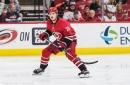Sebastian Aho out indefinitely with concussion and lower body injury