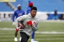 Buffalo Bills rookie receiver Zay Jones dealt with shoulder injury, per report