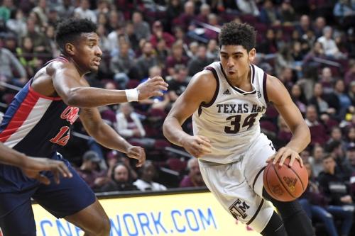 Texas A&M men's basketball team ends SEC drought, beats Ole Miss