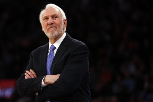 """Gregg Popovich: """"[The Nets] are going in the right direction"""""""