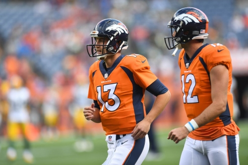 What should the Denver Broncos do with Trevor Siemian and Paxton Lynch?