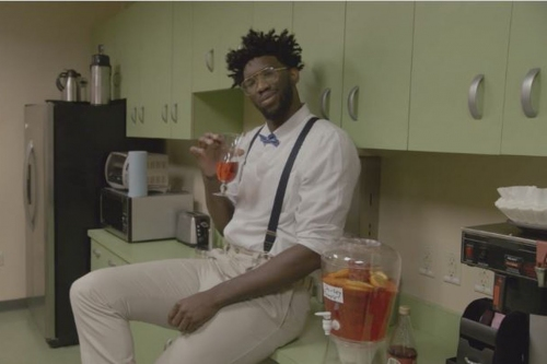 """Watch Joel Embiid Star in go90's """"5th Quarter"""" Episode: """"The Processor"""""""