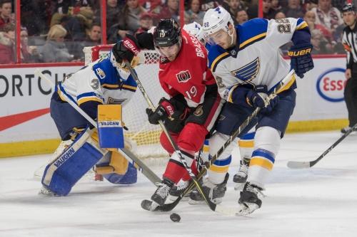 Game 43 Preview: St. Louis Blues @ Ottawa Senators