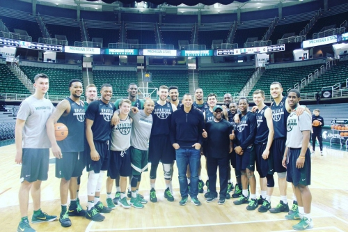 A Rod was all over the Breslin Center last night