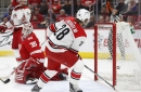 Recap and Rank 'Em: Lindholm's Two Goals Lead Hurricanes to 3-1 Win over Red Wings