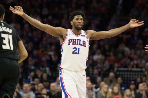 Joel Embiid is the Eastern Conference Player of the Week
