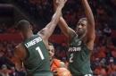 Roundball recap: MSU basketball turns ball over 25 times, beats Illinois anyway