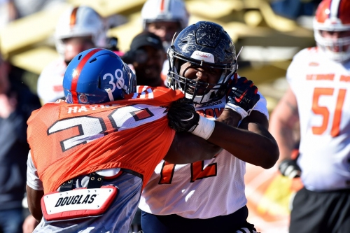 Marquis Haynes is turning heads at the Senior Bowl. Where does he fit in today's NFL?