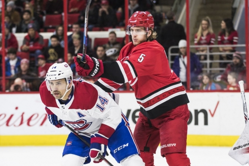 Carolina Hurricanes at Montreal Canadiens: Lineups and Game Discussion