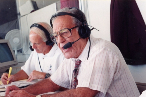 Maroon Moment of the Week: Jack Cristil's First Broadcast