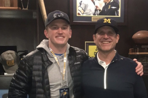 """Hudson Henry recaps visit to Michigan: """"Exceeded my expectations"""""""