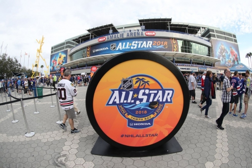 2018 NHL All-Star Skills Competition: Discussion and Live Results