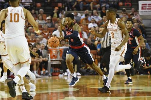 Ole Miss vs. Texas basketball 2018: Rebs fail out in Austin, 85-72