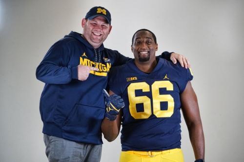Calvin Anderson Q&A: Michigan Man? Talented tackle recaps visit to Ann Arbor