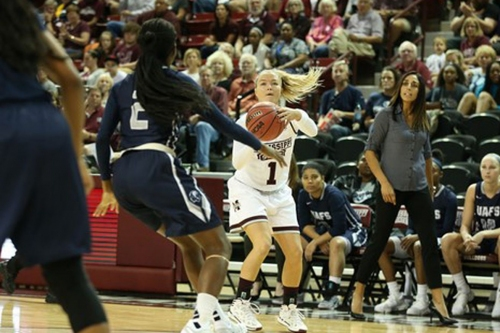 What makes Mississippi State's Blair Schaefer so dangerous?