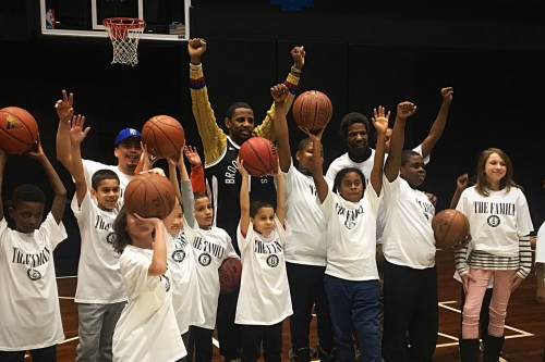 For his city: Fabolous gives back to Brooklyn's youth