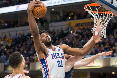The Sixers are outpaced by Indiana, fall 100-92