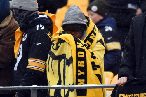 What happened to the confidence of the Steelers faithful?