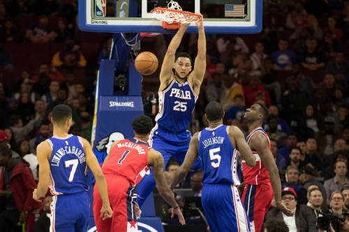 Sixers Wizards Game Preview/Start Time