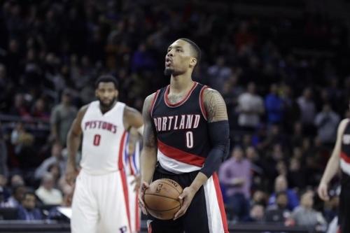 Detroit Pistons vs. Portland Trail Blazers live chat