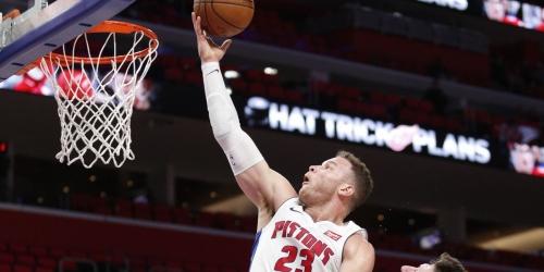 Detroit Pistons 3-0 with Blake Griffin, dispatch Trail Blazers, 111-91
