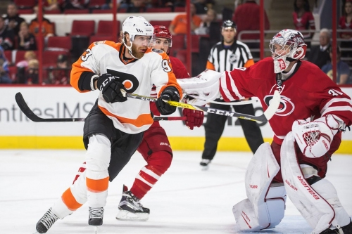 Flyers at Hurricanes: Lineups and Game Discussion